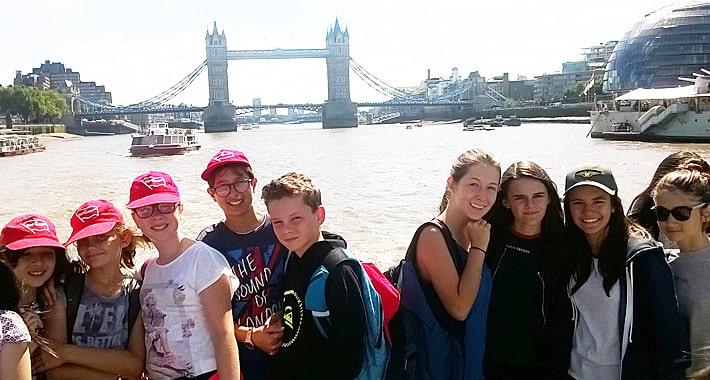 visite Londres groupe jeunes